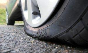 Image Flat Tire