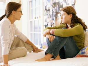 Chatting with Teen